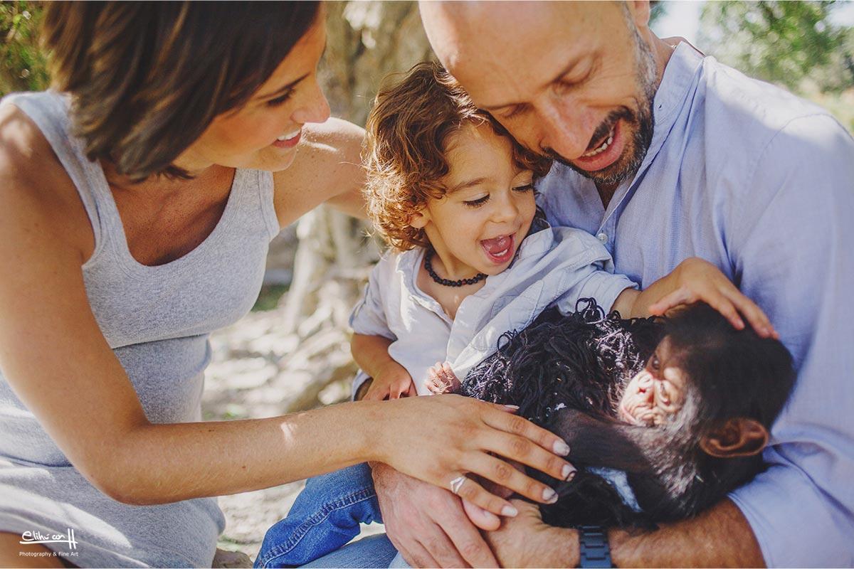 fotos de familias en Africam Safari puebla