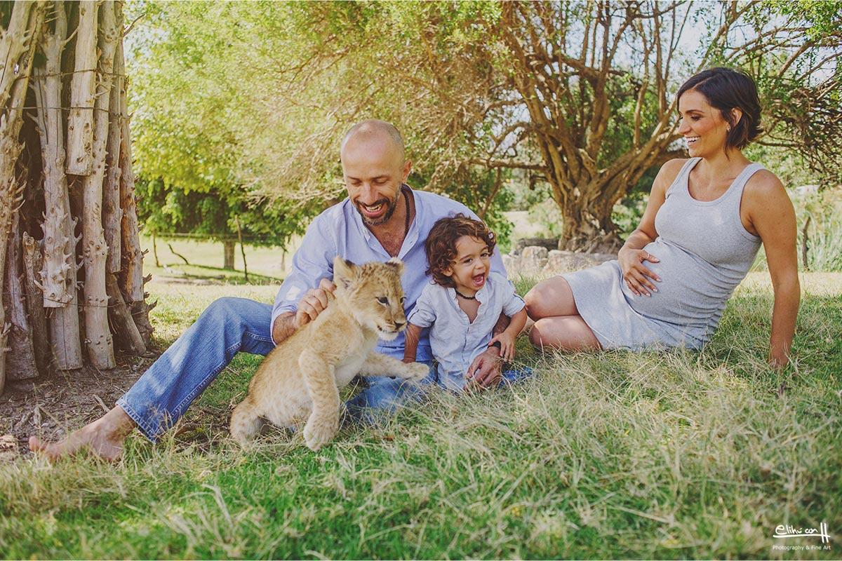 fotografos en puebla, fotos de embarazo en Africam Safari