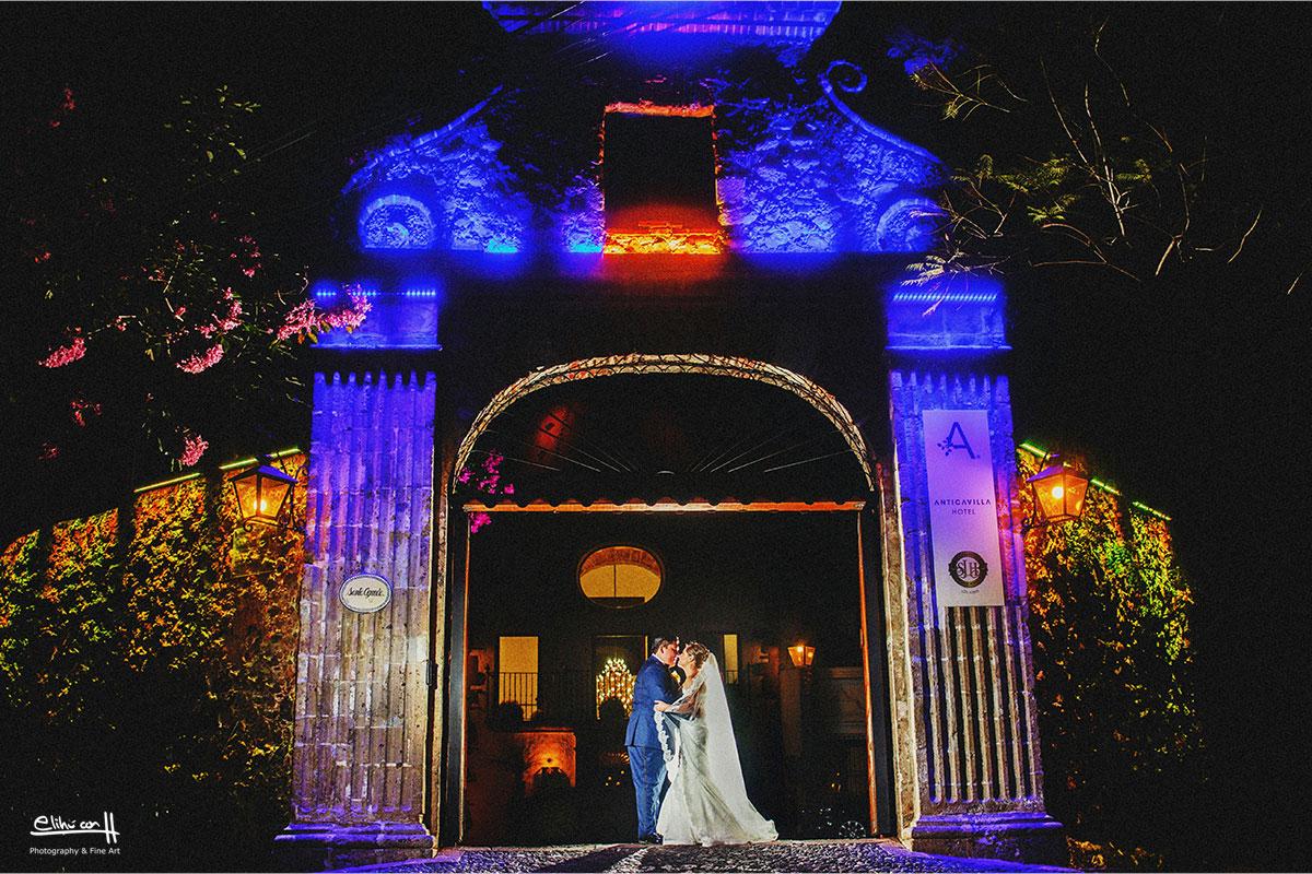 fotografos de bodas en cuernavaca hotel anticavilla