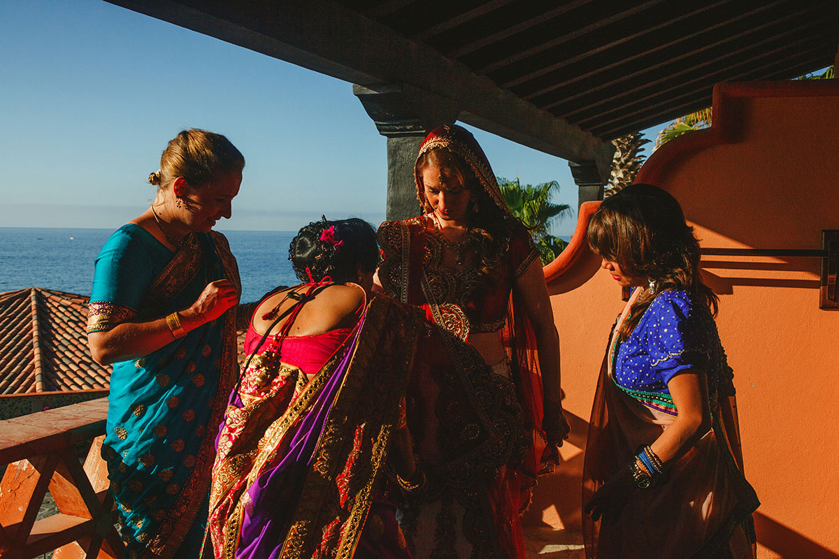 Gujarati Hindu wedding at sheraton hacienda del mar los cabos mexico