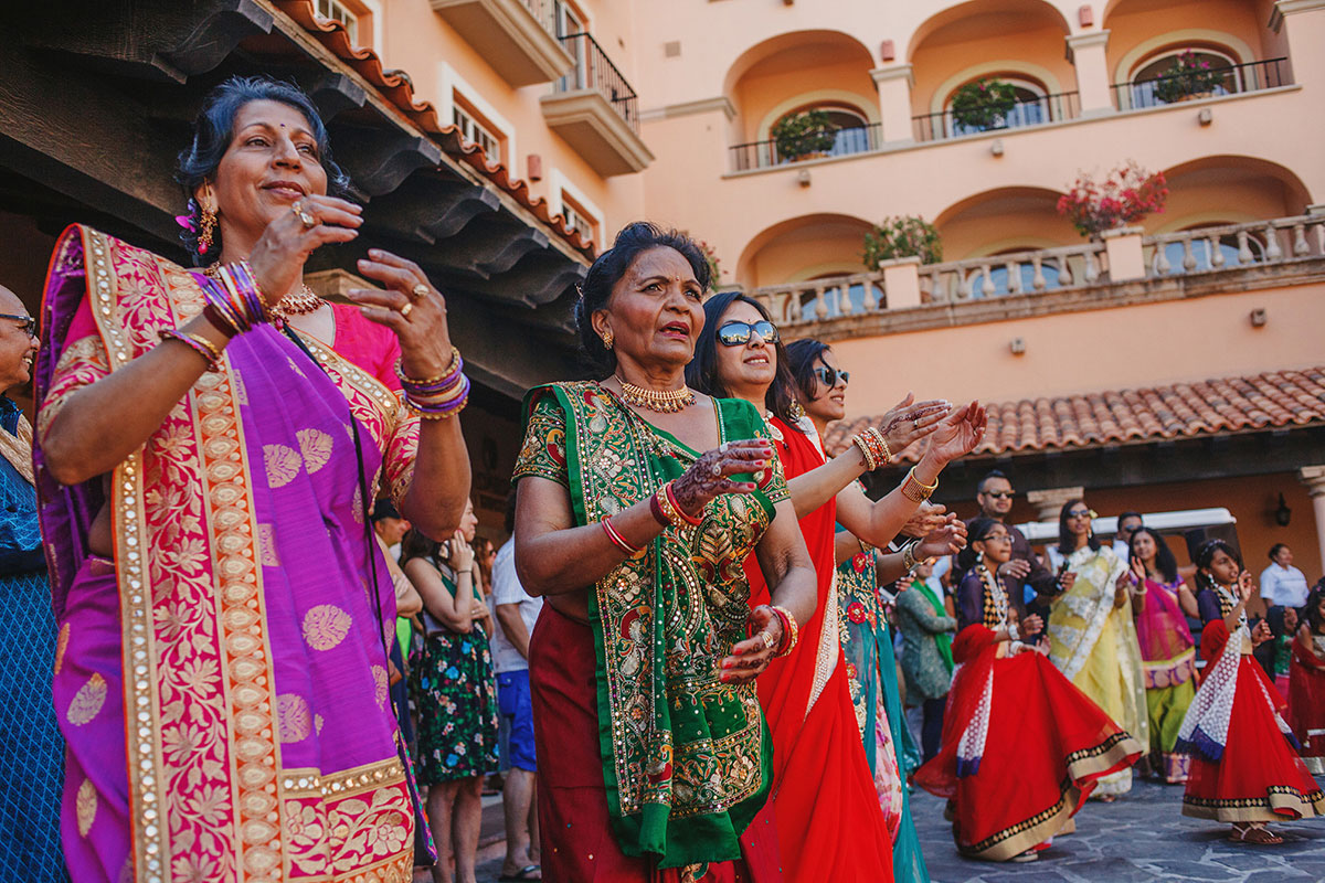 Gujarati Hindu wedding at sheraton los cabos mexico