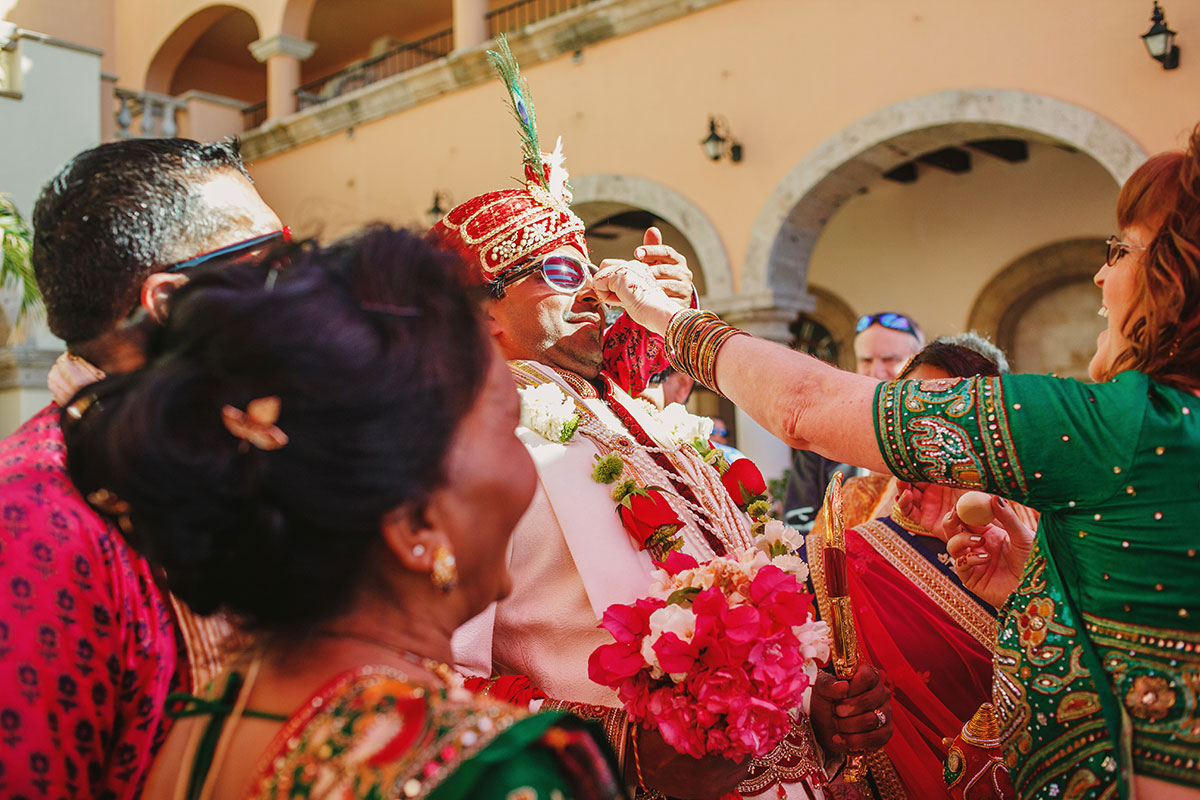 Gujarati hindu wedding at sheraton grand hacienda del mar los cabos mexico