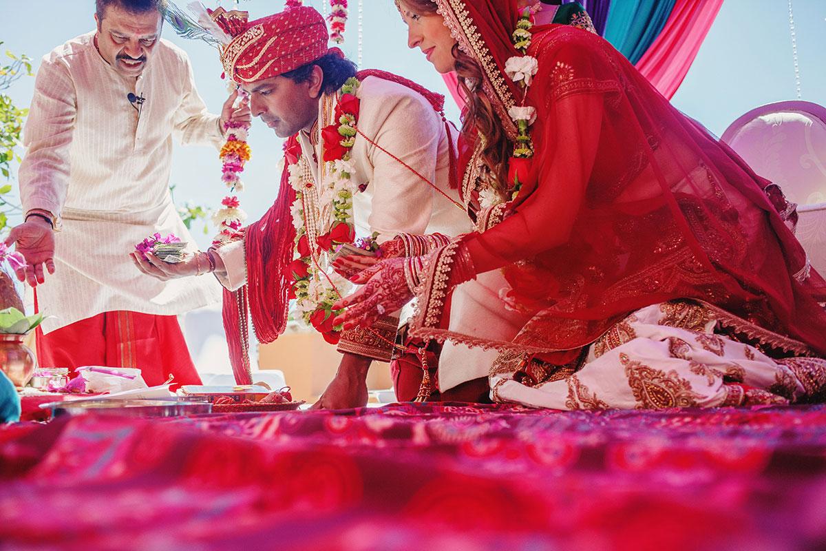 hindu wedding at sheraton grand hacienda del mar los cabos mexico