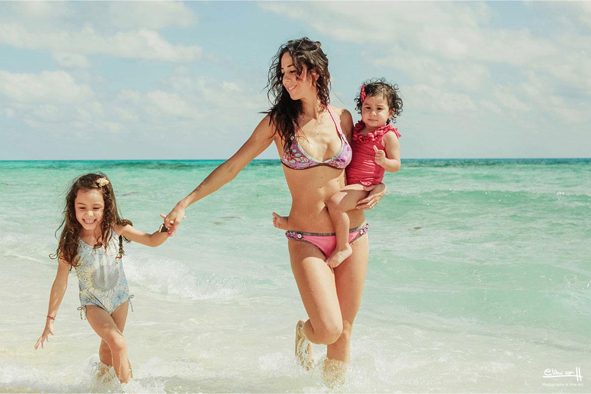 family photo session Cozumel photographer