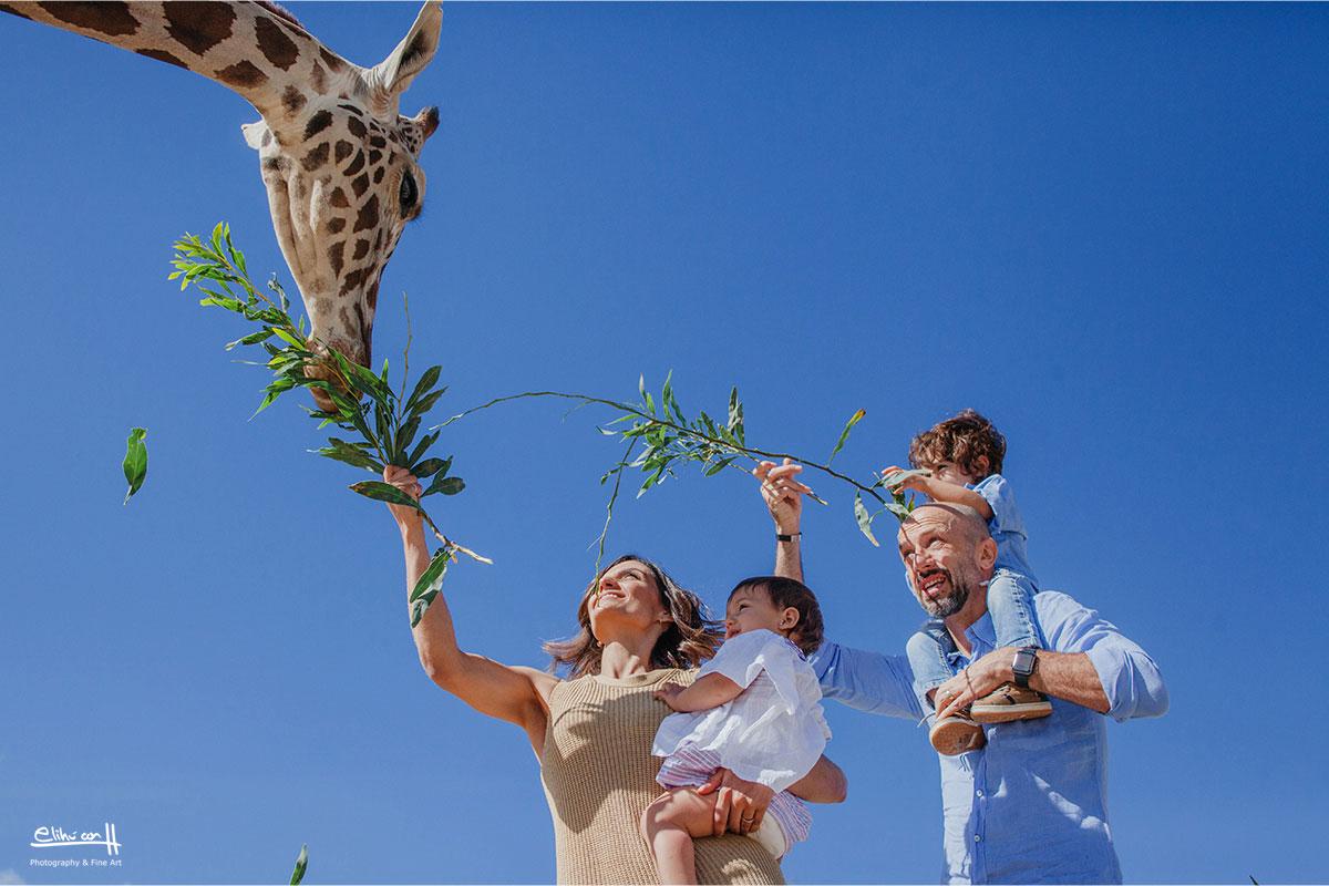 fotos de familia en africam safari puebla
