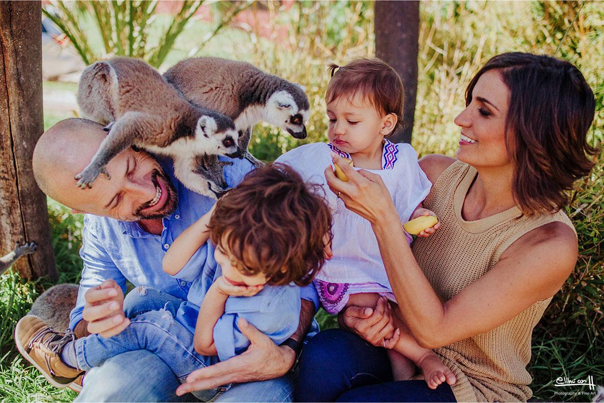 sesion fotografica de familia en africam safari puebla