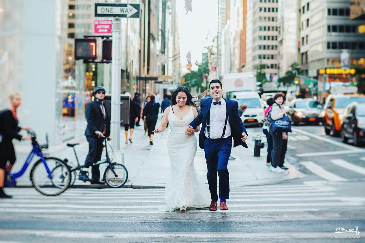 wedding photos in new york central park