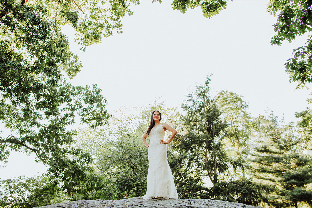 wedding photos in central park new york