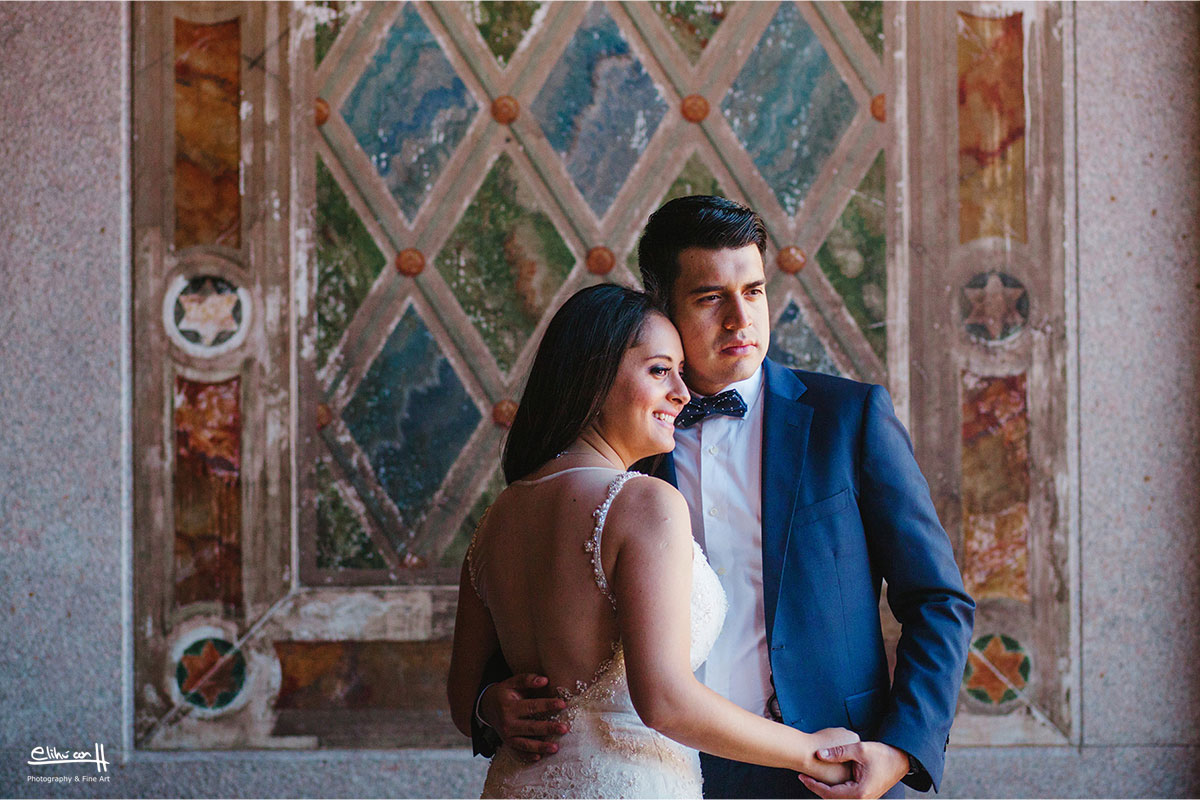 wedding photos new york central park