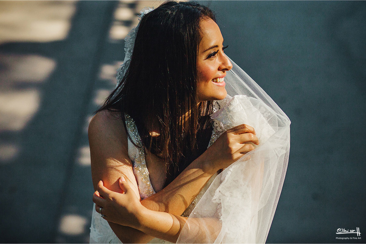 Trash the dress in New York city and Central Park
