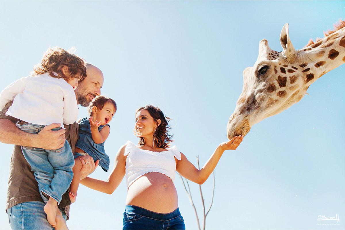 Sesión Fotográfica de Familia en Africam Safari Puebla